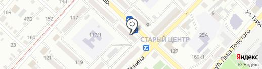 Кристалл Бийск на карте Бийска