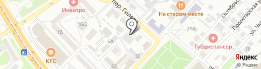 Всероссийское общество инвалидов на карте Бийска