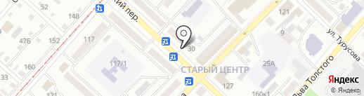 Баунти-Трэвел на карте Бийска