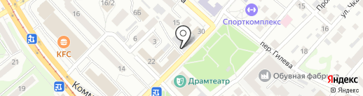 Художественная мастерская Николая Никонова на карте Бийска