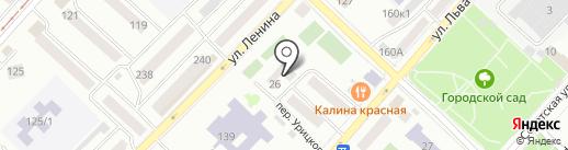 АлтайСоцСтрой на карте Бийска