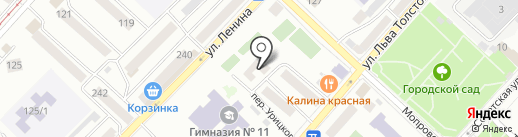 Сайты на карте Бийска