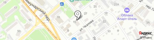 Стрелковый клуб-тир на карте Бийска