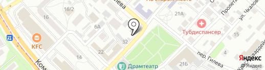 Центр общественных объединений г. Бийска на карте Бийска