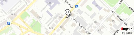Банк Уралсиб, ПАО на карте Бийска