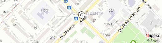 КОМИС ДИСКОНТ на карте Бийска