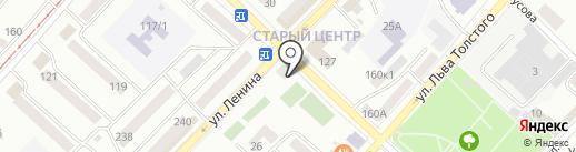 Альфа на карте Бийска