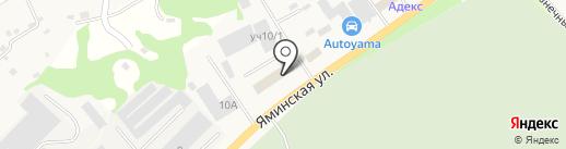 Алтайсертификаттранс на карте Бийска