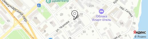 ОСЭ на карте Бийска