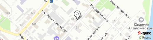 Кредо-Бланк Лтд на карте Бийска