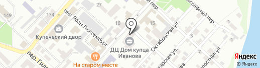 Импортупак на карте Бийска