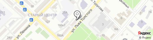 Адвокатские кабинеты Бельского В.А., Бабарыкина Ю.А. и Панюкова В.И. на карте Бийска