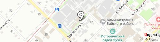 Банкомат, Банк ВТБ 24, ПАО на карте Бийска