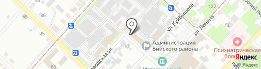 Общественная приемная депутата Алтайского краевого Законодательного Собрания по 15 округу Пляко И.В. на карте Бийска