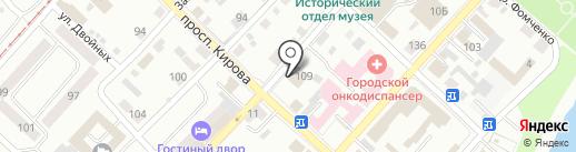 Барыня Сударыня на карте Бийска