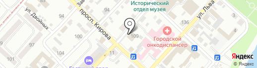Общественная приемная депутата Шебалина К.В. на карте Бийска