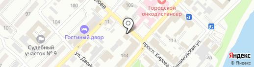Следственный отдел по г. Бийску Следственного Управления Следственного комитета РФ по Алтайскому краю на карте Бийска