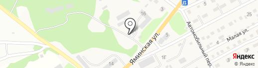 АЛЬЯНССТРОЙ на карте Бийска