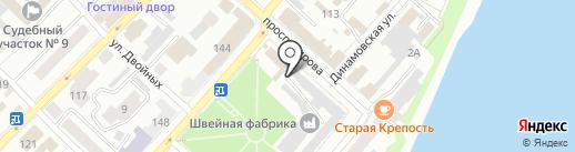 Вестер на карте Бийска