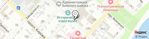 Хозяюшка на карте Бийска