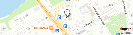 Компания по сдаче помещений в аренду на карте Бийска