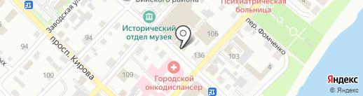 Почтовой отделение №337 на карте Бийска