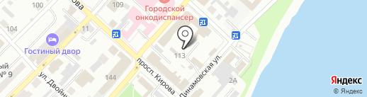 Меда Алтая на карте Бийска