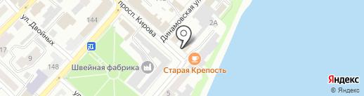 Карамболь на карте Бийска