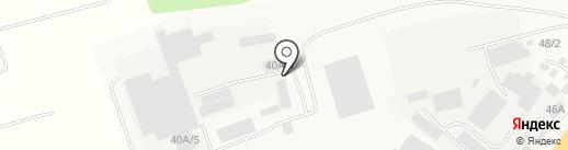 Теллура-бис на карте Бийска