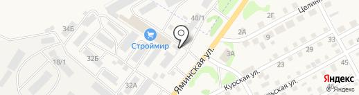 Гидросервис на карте Бийска