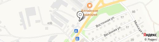 Оптовичок на карте Бийска
