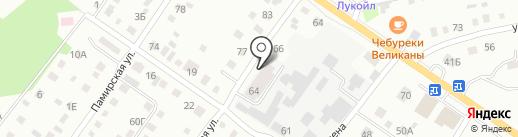 Автоцентр на Крестьянской на карте Бийска
