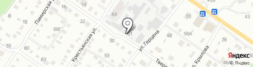 Дашенька на карте Бийска