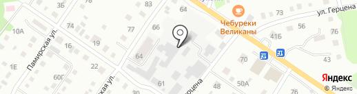 Ива+ на карте Бийска