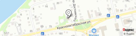 Богатырь плюс на карте Бийска