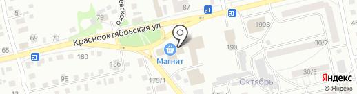 Дракоша на карте Бийска