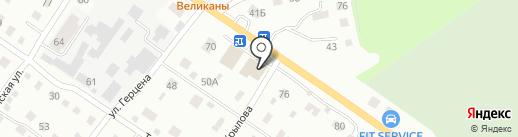 Банкомат, Сбербанк, ПАО на карте Бийска