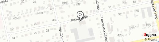 Логосиб на карте Бийска