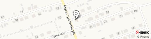 Удачный на карте Первомайского