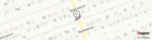 Алина на карте Первомайского