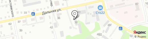 Штрафстоянка на карте Бийска