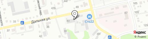 Алекс на карте Бийска