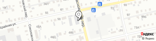 Огнеупоркотломаш на карте Бийска