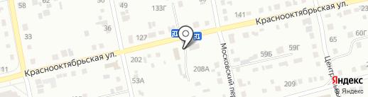 Транспортная фирма на карте Бийска