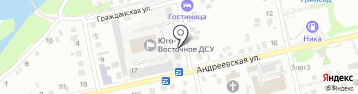 Федеральная служба по надзору в сфере транспорта на карте Бийска