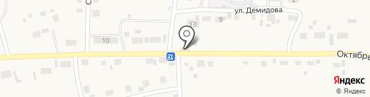 Центральный на карте Первомайского