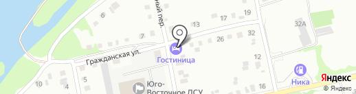 Домашняя на карте Бийска
