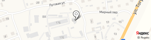 Эдем на карте Первомайского