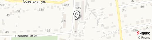 Участковый пункт полиции №1 на карте Первомайского