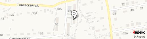 Аникс на карте Первомайского